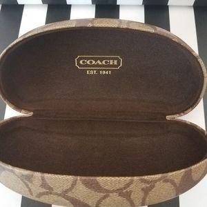 Coach Clamshell Eyeglass / Sunglass Case
